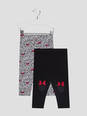 Pantalon legging Minnie multicolore bebef