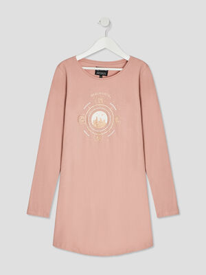 Chemise de nuit Harry Potter rose fille