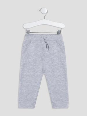 Pantalon jogging gris bebeg