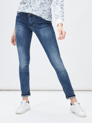Jeans regular denim dirty femme