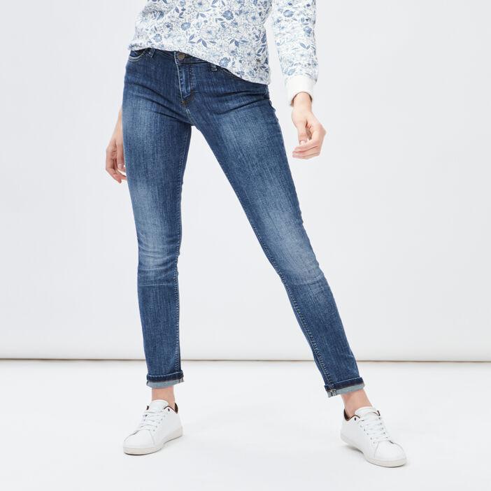 Jeans regular femme denim dirty