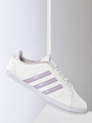 Tennis Adidas CONEO QT blanc femme