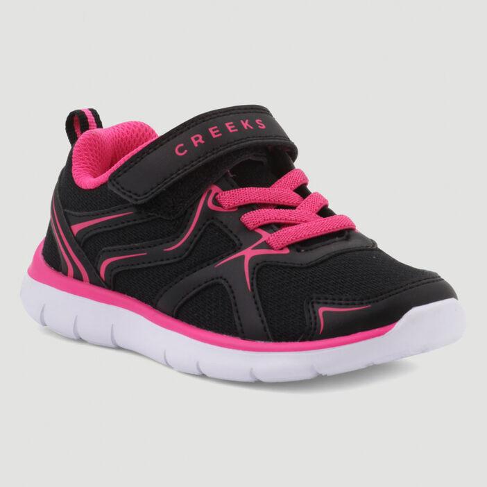 Baskets running Creeks fille noir