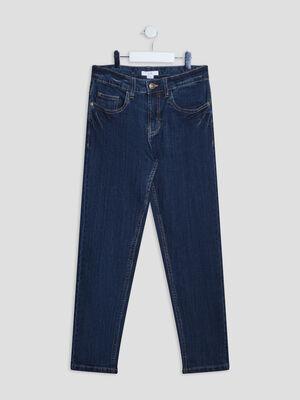 Jeans straight denim brut garcon