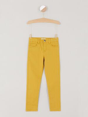 jean droit 5 poches bleu gris garcon