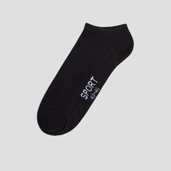 Lot 5 paires de chaussettes de sport homme noir