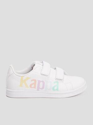 Tennis Kappa VANDHI blanc garcon