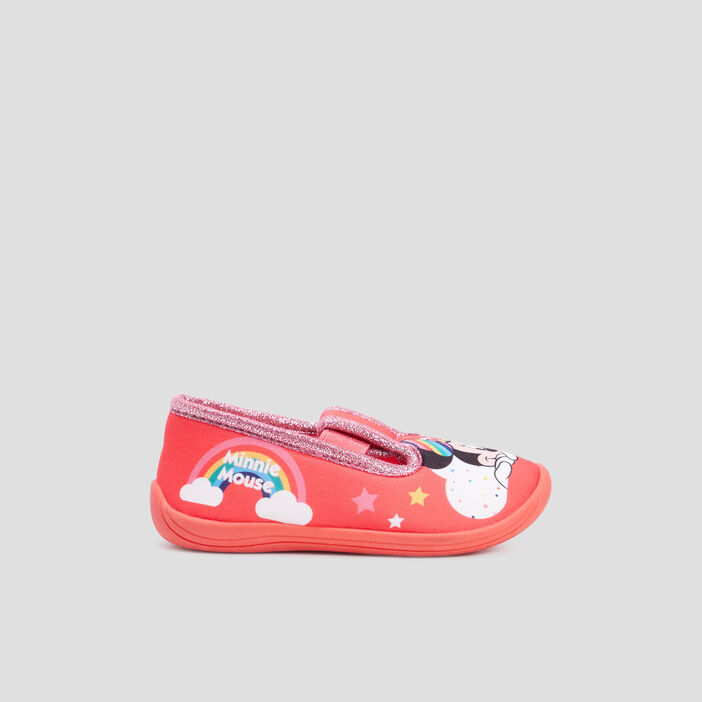 Chaussons Minnie fille rouge