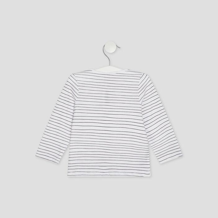T-shirt 101 Dalmatiens bébé fille blanc