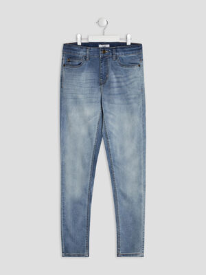 Jeans skinny denim bleach garcon