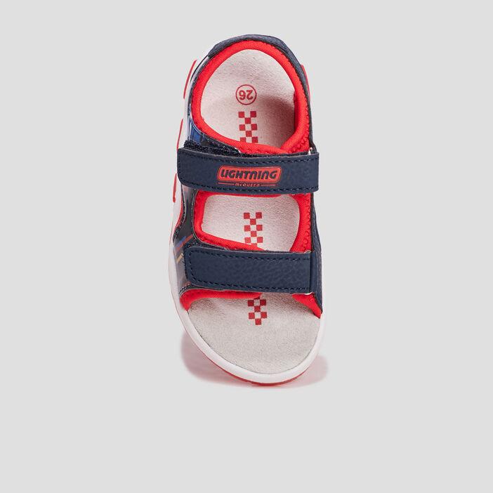 Sandales Cars garçon bleu