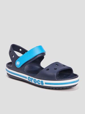 Sandales Crocs bleu marine garcon
