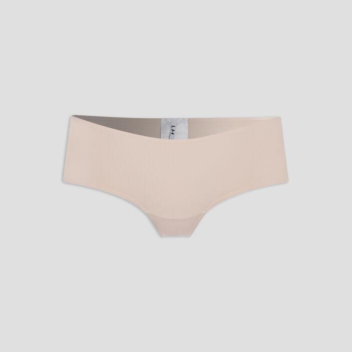 Culotte boxer femme beige
