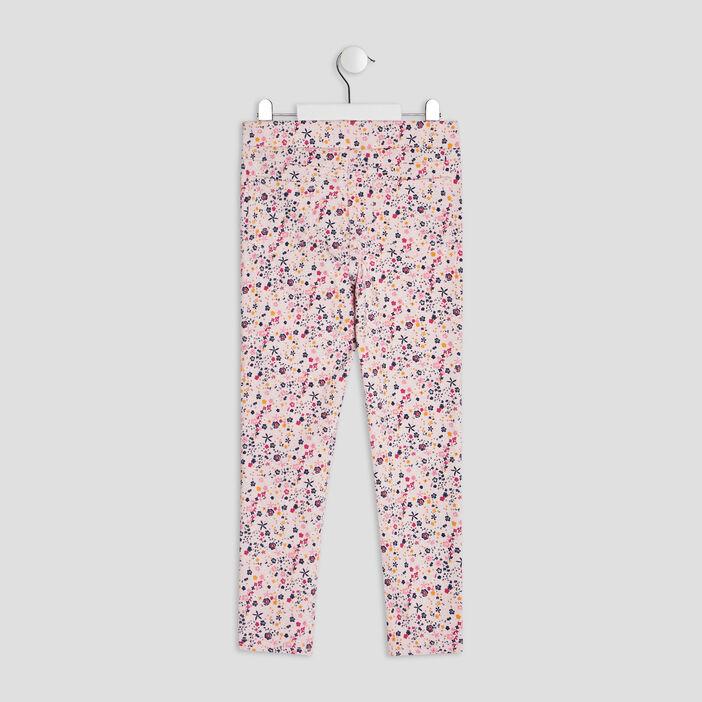 Pantalon tregging fille rose clair