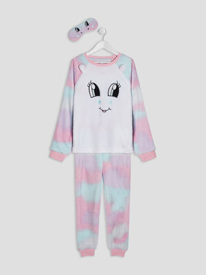 Ensemble pyjama multicolore fille