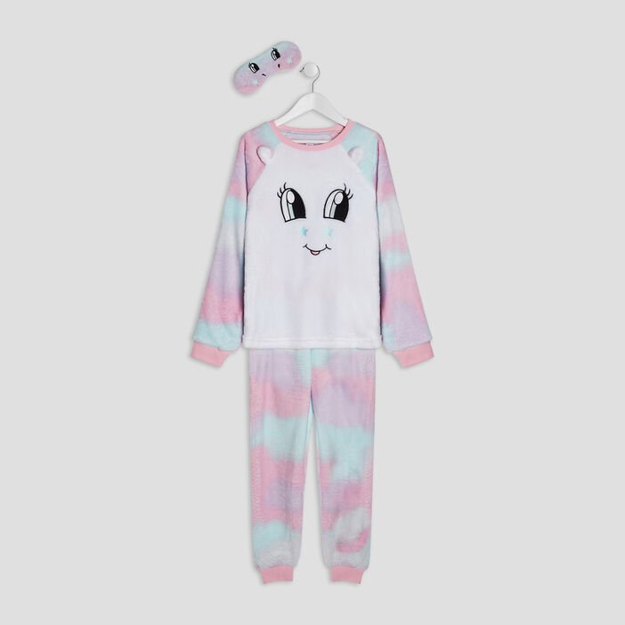 Ensemble pyjama fille multicolore