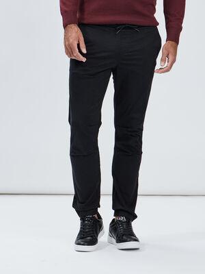 Pantalon jogpant noir homme