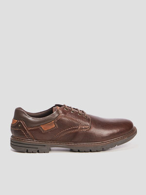 Derbies Trappeur marron homme