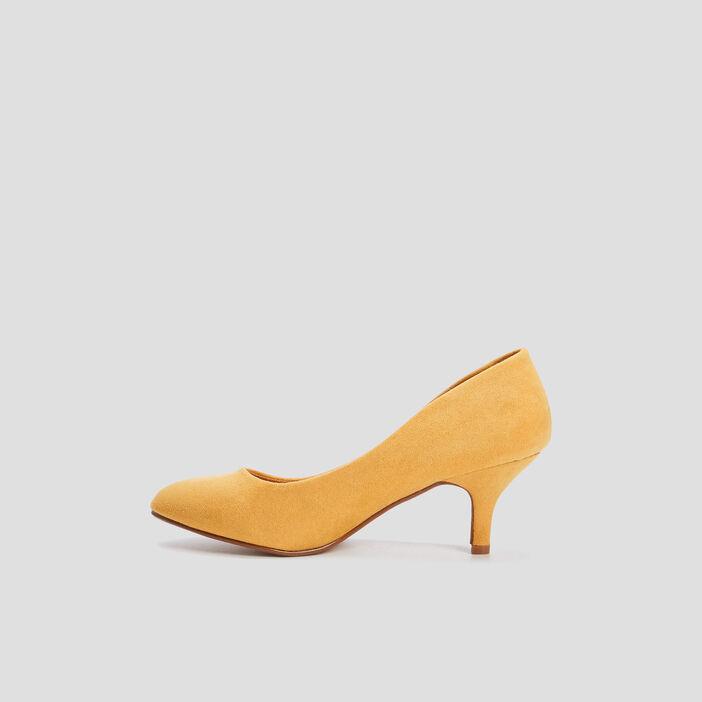 Escarpins à talons femme jaune