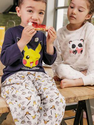 Ensemble pyjama Pokemon bleu garcon