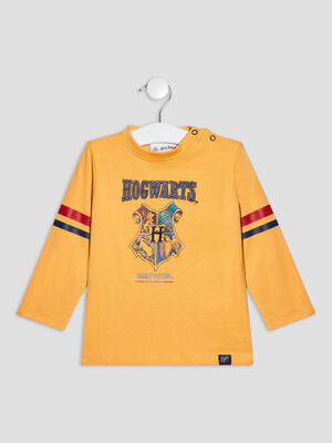 T shirt Harry Potter jaune moutarde bebeg