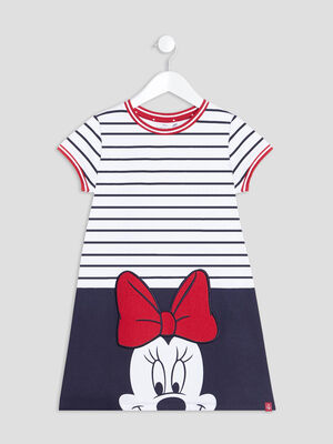 Robe evasee Minnie multicolore fille