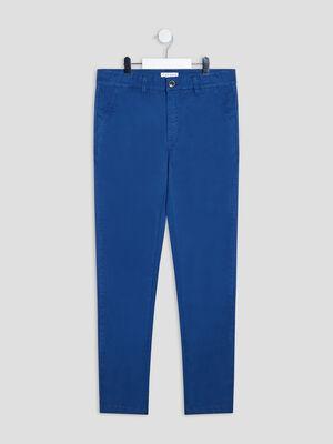 Pantalon droit Creeks bleu marine garcon