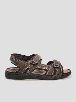 Sandales Trappeur gris homme