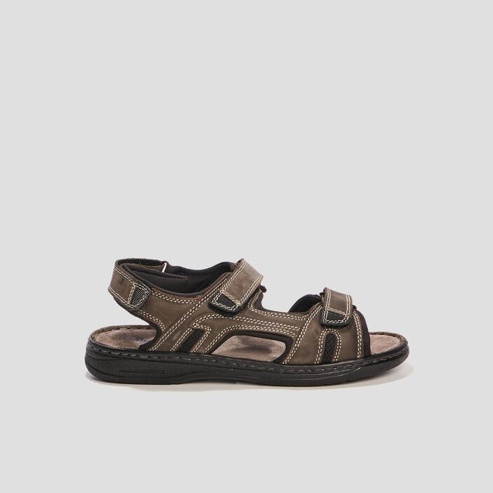 Sandales Trappeur homme gris