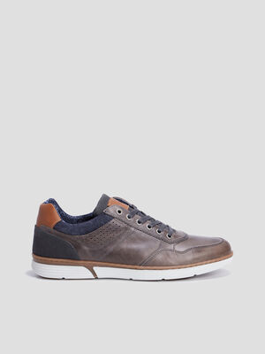 Baskets tennis Creeks gris homme