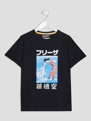 T shirt Dragon Ball Z noir garcon
