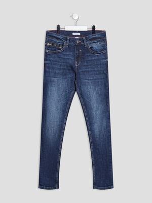 Jeans straight Creeks denim brut garcon