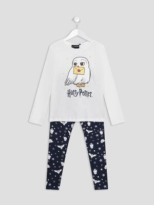 Pyjama Harry Potter ecru fille