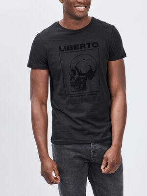 T shirt Liberto noir homme