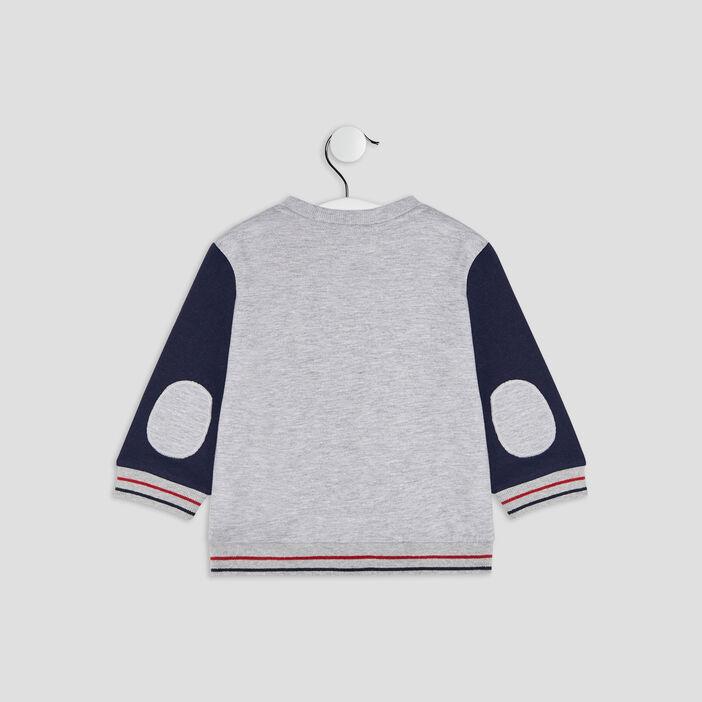 T-shirt multicolore bébé garçon gris