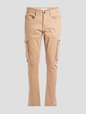Pantalon battle stretch Creeks beige homme