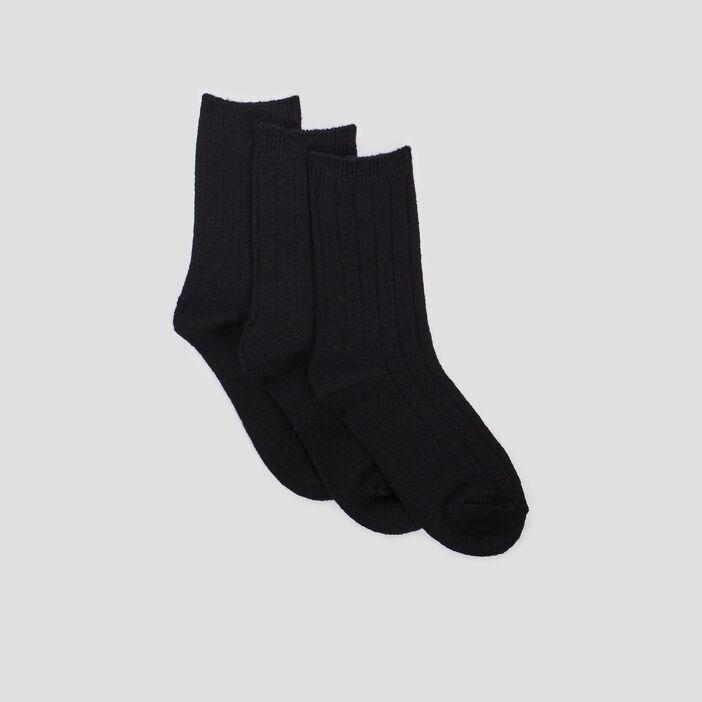 Chaussettes femme noir