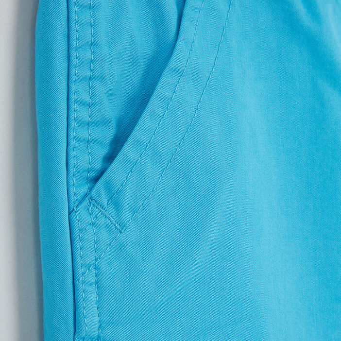 Short, Bermuda garçon bleu turquoise