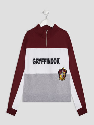 Sweat Harry Potter bordeaux fille