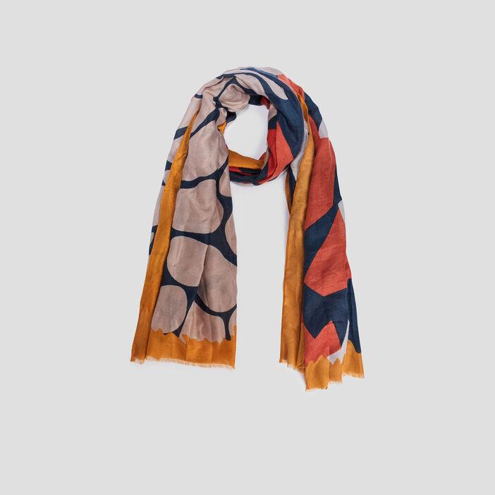 Foulard femme multicolore