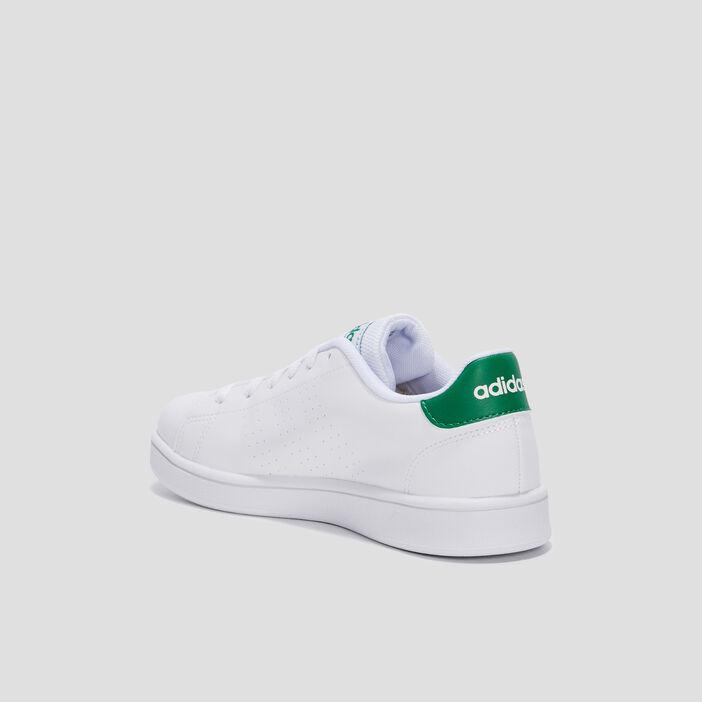 Baskets tennis Adidas garçon blanc