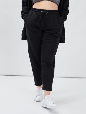 Pantalon jogging noir femmegt