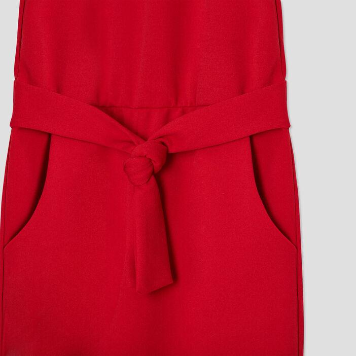 Combinaison pantalon Creeks fille rouge