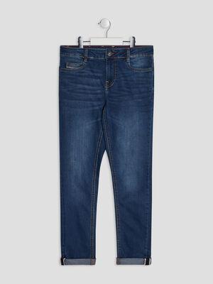 Jeans slim Creeks denim double stone garcon