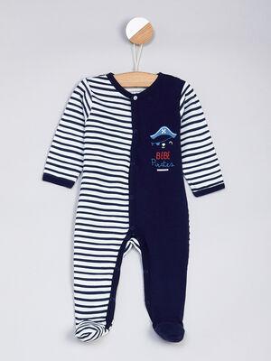 Lingerie bebe bleu marine bebeg