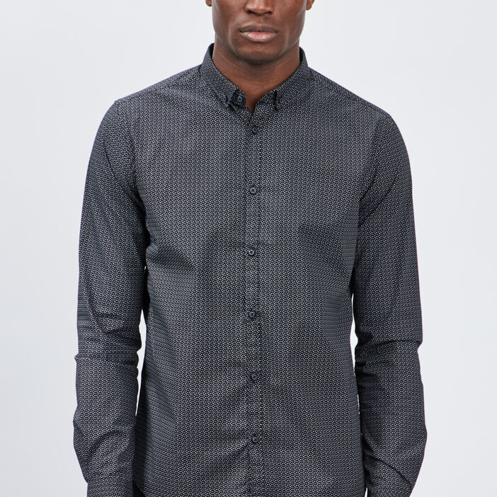 Chemise Yves Dorsey homme noir