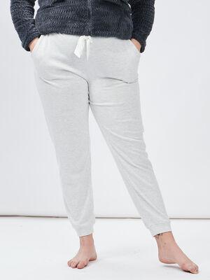 Pantalon de pyjama gris femmegt