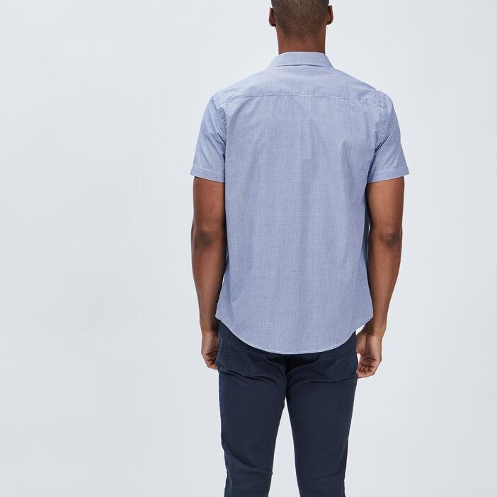 Chemise manches courtes Creeks homme blanc