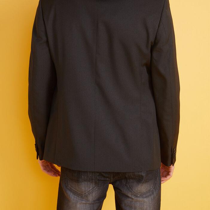 Veste droite de costume  homme noir