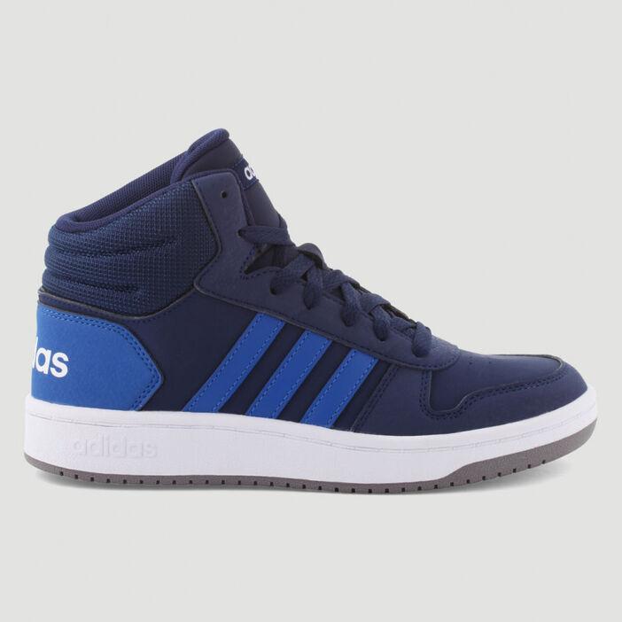 Tennis Adidas Hoops Mid 2.0 K garçon bleu